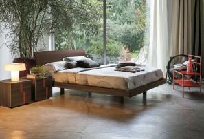 Итальянская деревянная кровать CLIO