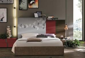 Итальянская деревянная кровать KREA