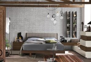 Итальянская деревянная кровать LIZ