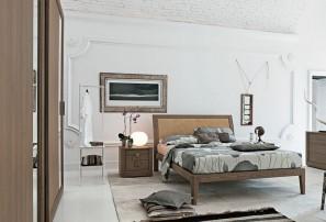 Итальянская деревянная кровать MEDEA