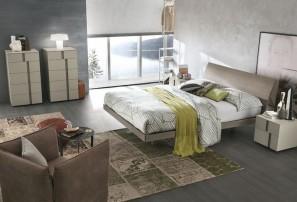 Итальянская деревянная кровать NARCISO