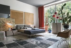 Итальянская деревянная кровать PIUMA