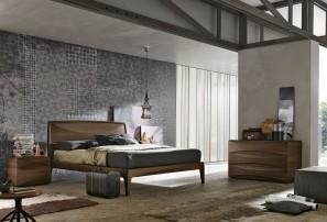 Итальянская деревянная кровать SIDNEY