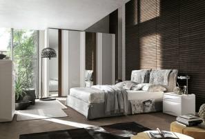 Итальянская двуспальная кровать AMAMI