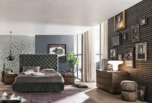 Итальянская двуспальная кровать CHANTAL ALTO