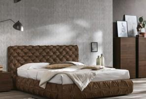 Итальянская двуспальная кровать CHANTAL BASSO