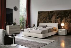 Итальянская двуспальная кровать EROS