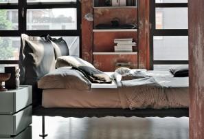Итальянская двуспальная кровать NUVOLA