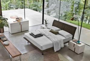 Итальянская двуспальная кровать STROPICCIO