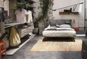 Итальянская двуспальная кровать TASCA