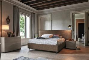 Итальянская двуспальная кровать ZENO XL